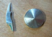Nickel Silver key cup and keypart